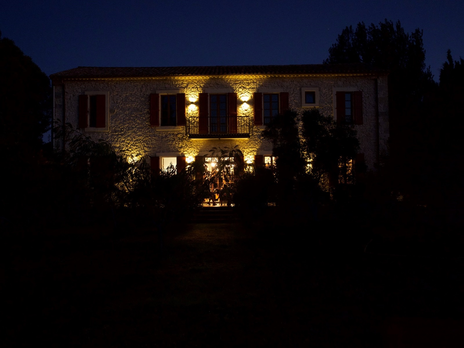 La_Broutte_Terrasse_nachts